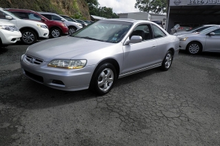 Honda Accord Ex W/leather Plateado 2001
