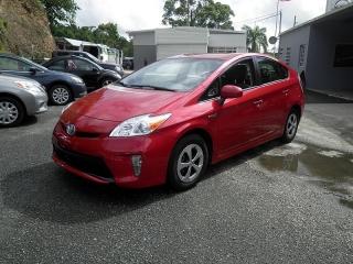 Toyota Prius Persona Rojo Vino 2013