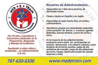 CPR-AED y/o PRIMEROS AUXILIOS
