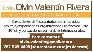 LIC. OLVIN VALENTIN RIVERA