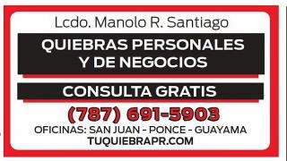 QUIEBRAS - LIC. MANOLO SANTIAGO