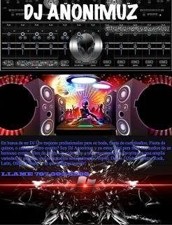 DJ Anonimuz el mejor de PR!