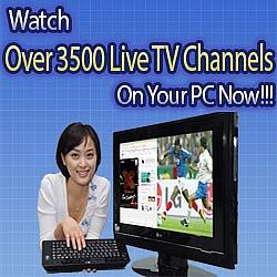 Vea television de todos los paises del mundo