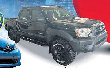 Toyota Tacoma Black Storm
