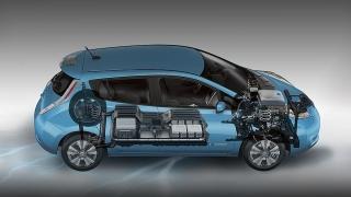 Nissan leaf 2015 Blanco