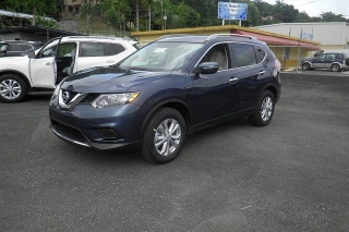 Nissan Rogue Sv Gris Oscuro 2014