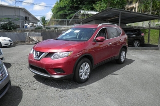 Nissan Rogue Sv Rojo 2014