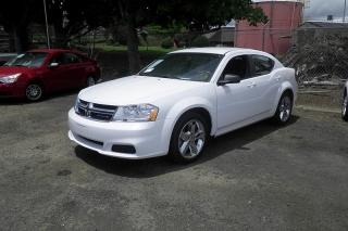Dodge Avenger Se Blanco 2013