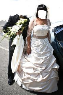 Traje de novia Oleg Cassini size 12