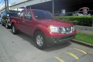 Nissan Frontier S Rojo 2011