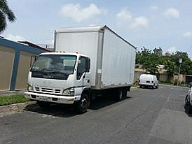 Se Vende Camión con Cajón de 20' Cerrado.