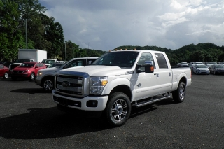 Ford Super Duty F-250 Srw Platinum Blanco 2015