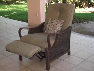 Butaca reclinable para patio  La Z Boy