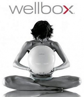 WELLBOX - ONLY FDA APPROVED AT HOME CELLULITE REDUCTION MACHINE AND WRINKLE REDUCER only open to see if it's workes// WELLBOX- Única maquinaria casera aprobada por la FDA para reducir celulitis y arrugas. Abierta para comprobar que funcionaba.