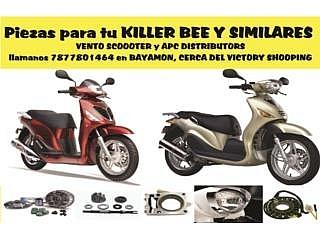 Piezas para tu KILLER BEE o similares