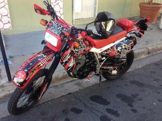 Se vende super moto XR 650