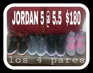 Jordan de mujeres...size 5 y 5.5