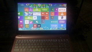 Sony Waio Touchscreen Laptop Pink