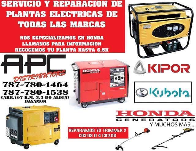 REPARACION DE PLANTAS ELECTRICAS para CompraVenta en Bayamon