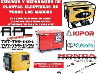 REPARACION DE PLANTAS ELECTRICAS.