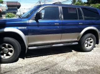 Mitsubishi Montero 1998 Azul