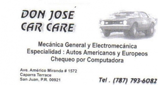 Mecanica General y Eletromecanica 787-793-6082