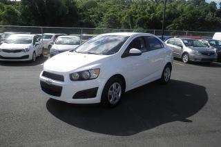 Chevrolet Sonic Ls Blanco 2013
