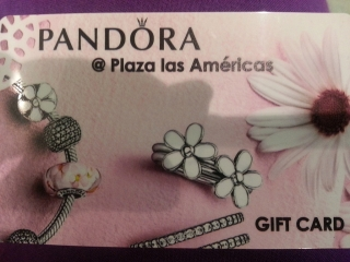 Se intercambia gift card por dinero.