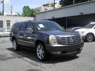 Cadillac Escalade Esv Premium Gris Oscuro 2011