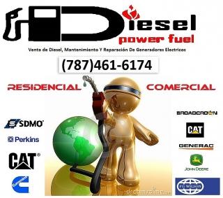 VENTA DE DIESEL, MANTENIMIENTO  Y REPARACION DE PLANTAS ELECTRICAS DIESEL (RESIDENCIAL Y COMERCIAL)
