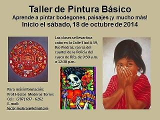 CLASES  DE PINTURA BÁSICO