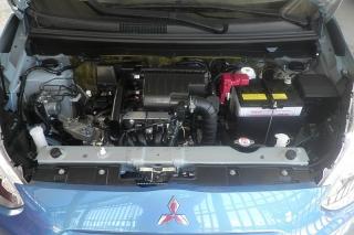 Mitsubishi Mirage Es Azul 2015