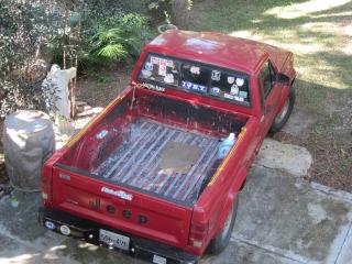 Jeep Comanche 1988 Rojo
