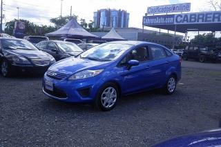 Ford Fiesta S Azul 2011