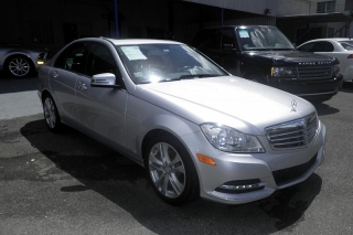 Mercedes-benz C-class C250 Luxury Plateado 2013