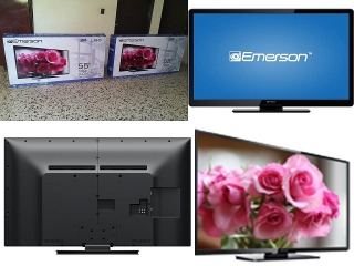 """TV Emerson LED 55"""" 1080p 120Hz Class"""