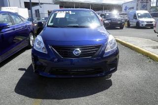 Nissan Versa S Azul 2014