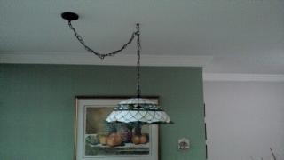 Se vende lampara tiffany