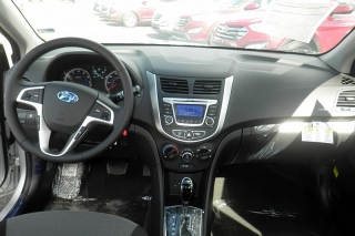 Hyundai Accent 5 Plateado 2014