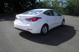 Hyundai Elantra Se Blanco 2015