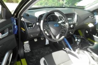 Hyundai Veloster Turbo Negro 2015
