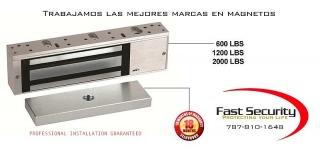 Cerradura magnéticas Venta Instalacieon