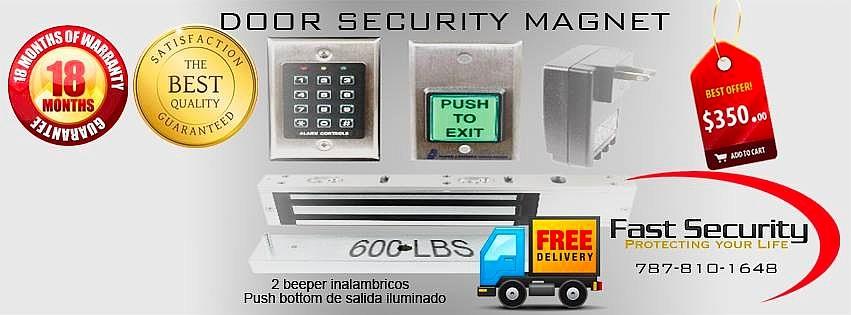 cerradura magnética venta y instalación
