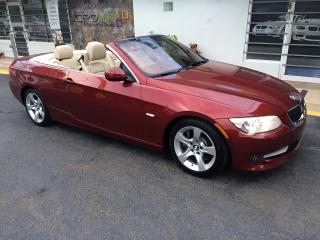 BMW 335i 2012 COUPE CONVERTIBLE SPORT PREMIUM PIEL INTERIORES CREMAS $29,995