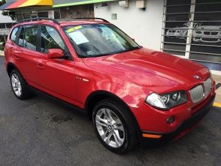 BMW X3 3.0si PREMIUM 2007 PANORAMAROOF PIEL INTERIORES CREMAS$12,995