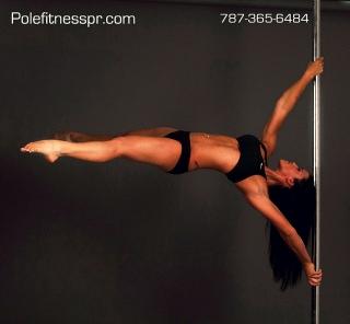 Clases de bailar en el Tubo en Puerto Rico (Pole Dance)
