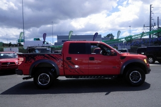 Ford F-150 Svt Raptor Rojo 2011