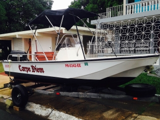 Boston Whaler® 17' 1982 90HP Año 1982, $8,995