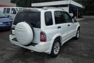 Suzuki Grand Vitara Ex Blanco 2004
