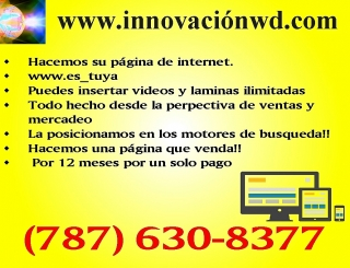 Web, Diseño, Creación & Publicidad
